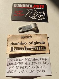 PIASTRA FISSAGGIO CAVI LAMBRETTA 125-150LI,175TV,150-200SX,125-150-200DL,SPECIAL