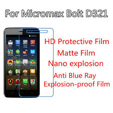 3pcs For Micromax Bolt D321 HD Protective,Matte Anti Scratch Screen Protector