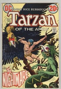 Tarzan #214 November 1972 VG Kubert art