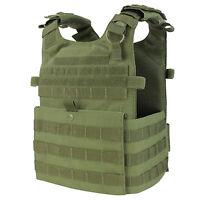 CONDOR 201039 Tactical MOLLE Gunner Lightweight Plate Carrier Vest OD Green