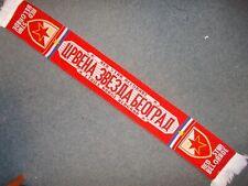 RED STAR BELGRADE ROTER STERN BELGRAD BEOGRAD CRVENA ZVEZDA scarf Schal Sal
