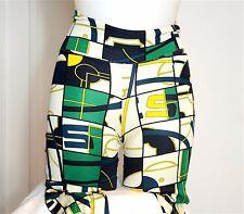 Pantalon legging en soie imprimé HERMES. Printed silk pants. Seide Höse. Bon éta