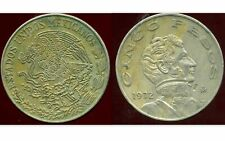 MEXICO  MEXIQUE   5 pesos 1972  ( aus )