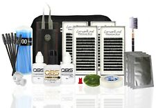 QBS Eyelash Extension Starter Kit/Set Professional - Loventure Silk Lash