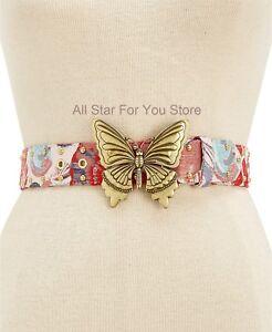 Steve Madden Women's Belt Butterfly-Plaque Belt S, M, L, XL