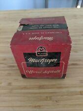 Vintage Sealed MacGregor Softball # 100-D