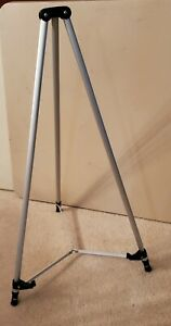 Quartet 50E telescoping adjustable tripod easel aluminum, 3 ft to 6 ft range