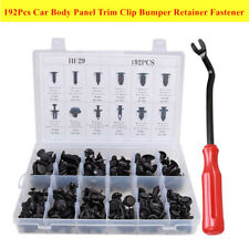 192PCS Car Body Panel Retainer Push Pin Rivet Trim Clip Fastener Assorted Parts