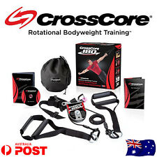 CrossCore 180 Complete Rotational strength Training Home Suspension kit trainer