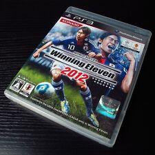 PS3 PlayStation 3 GAME World Soccer Winning Eleven 2012 JAPAN Import #0103