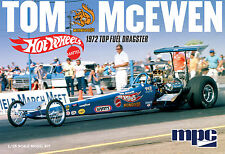 MPC 1/25 Tom McEwen Mongoose 1972 Top Fuel Dragster PLASTIC MODEL KIT 855