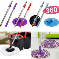 Spin Mop Bar Pole Handle Replacement Floor Mop 360 No Foot Pedal Version