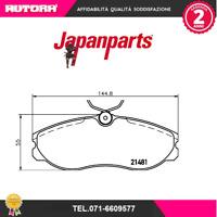 PA017AF Kit pastiglie freno a disco Nissan Terrano II (R20) (MARCA-JAPANPARTS)