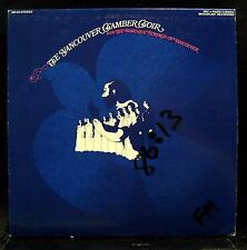 Jon Washburn - The Vancouver Chamber Choir LP Mint- SM 243 CBC Radio Canada 1973