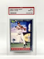 1993 Classic Best Minor League Derek Jeter #91 RC PSA 9 Rookie HOF
