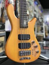 Warwick Rockbass Streamer Standard 5-String Electric Bass Honey Violin FREE CASE
