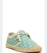 Soludos Derby Print Lace-up Foxes Youth Girls Size 13. New