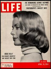 1954 LIFE MAGAZINE **COVER ONLY** Featuring Grace Kelly Hollywoods New Star