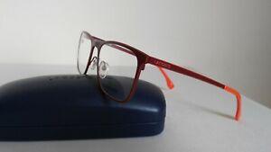 LACOSTE Glasses Frames L2231-615 Designer Eyeglasses Matte Red 55 mm