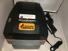 DuraLabel Bronco 300 Graphic Products Industrial Label Printer MINT!