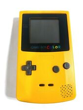 Yellow Refurbished Nintendo Game Boy Color GBC System Console Tested + Working!