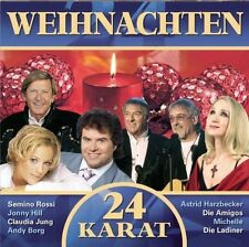 Weihnachten (24 Karat) Amigos, Claudia Jung, Andy Borg, Ladiner, Belsy,.. [2 CD]