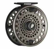 Sage Trout Spey 3/4/5 Fly Reel - Stealth/Silver - NEW - FREE FLY LINE