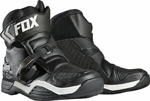 Fox Racing Mens Black Bomber Dirt Bike Boots MX ATV 2020