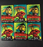 Lot of (6) Topps THE ROCKETEER Movie Cards Disney