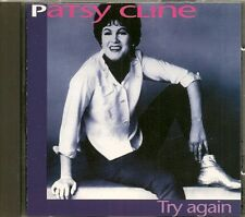 """CD COMPIL 14 TITRES--PATSY CLINE--TRY AGAIN """"COUNTRY"""""""