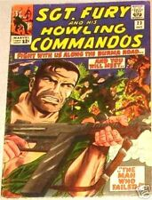 SGT. FURY 23 + SERGEANT 1963 SERIES & HIS HOWLING COMMANDO NICK SERGEANT