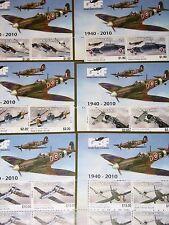 SOLOMON SALOMON ISL. 2010 MS set Flieger Battle of Britain Flugzeuge Aircrafts**