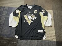 Pittsburgh Penguins Sidney Crosby Youth Boys L/XL Reebok Black Jersey