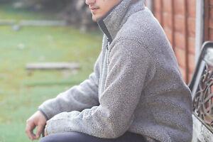 Milano Men's Fleece Heavy Macaroni Sweatshirt Full Zip Walking, Hunting, Fishing