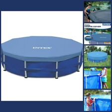 15 Foot Round Metal Frame Pool Protection Cover Stay Clean Anti Fall Debri Big
