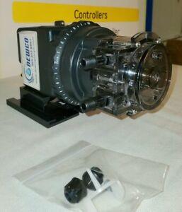 Stenner Chemical Metering Pump - 3 GPD / 25 psi / 120 VAC: 45MJL1A1STAA