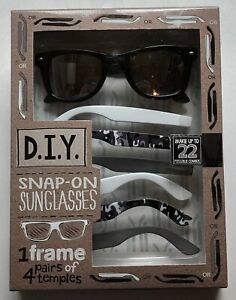 Men's Camo Snap On Snap Off Customizable Sunglasses Make up to 22 Combos