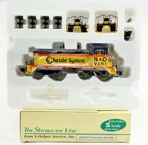 S-HELPER S GAUGE 00108 B&O CHESSIE SYSTEM SW-9 DIESEL ENGINE #9601