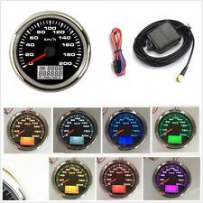 0-200km/h GPS Speedometer Gauges Tuning 85mm Car LCD Speed Odometers Waterproof