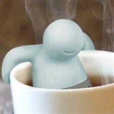 Mini Mr Tea Infuser Leaf Novelty Filter Strainer Herbal Spice Teapot Silicone