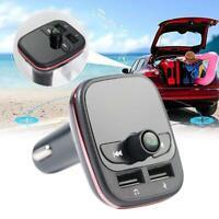 Bluetooth Transmisor FM Reproductor MP3 para Cargador NE De W Libres