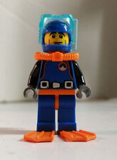Lego Minifigures 8683 DEEP SEA DIVER City Series 1 Tank Swim Fins Atlantis OCEAN