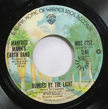 Rock 45 Bruce Springsteen - Blinded By The Light / Starbird No. 2 On Warner Brot