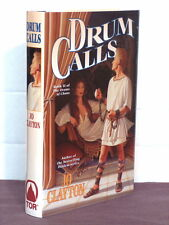 1st, signed by mapmaker, Drums of Chaos 2: Drum Calls by Jo Clayton (1997,HB)