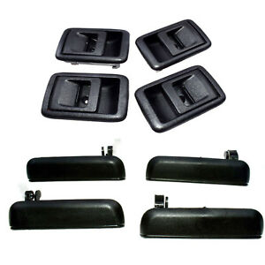 8PCS Outside & Inside Front Rear Left Right Door Handle For 95-98 Toyota Tercel
