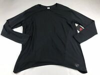 New Balance Women Studio Relaxed Long Sleeve Shirt Top Medium M Oversize NEW