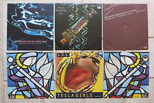 """Orchestral Manoeuvres  6 x 7""""  Maid Of + Souvenir + Tesla + Genetic + Sailing On"""