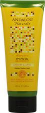 Brilliant Shine Sunflower & Citrus Styling Gel, Andalou Naturals, 6.8 oz