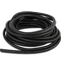 """50' Feet 1"""" 25MM Split Loom Wire Flexible Tubing Wire Conduit Polyethylene Hose"""