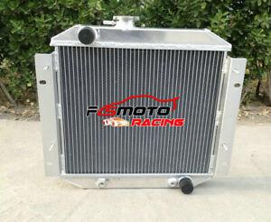 Aluminum Radiator For Ford Escort Sedan Van RWD 1971-1980 1972 1973 74 75 AT/MT